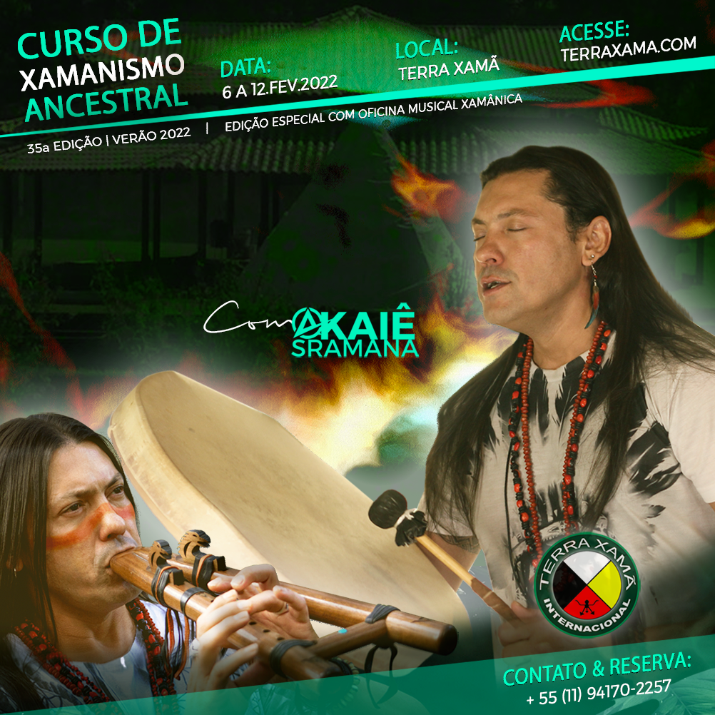 Curso de Xamanismo Ancestral » 6 a 12.Fevereiro.2022